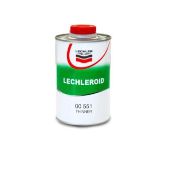 00551 Lechleroid Sopraffino Nitro Thinner Hígító